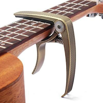 Capo – Quick Trigger Release for Acoustic & Electric Guitar/Ukulele-Bronze