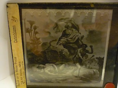 French Antique daguerreotype Glass Plaque - Plates - Old  Photo
