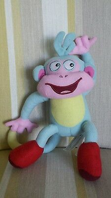 """Boots the Monkey from Nickelodeon Dora the Explorer 10"""" plush soft toy"""