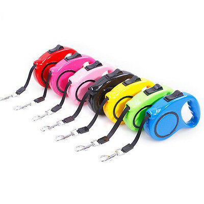 10ft/3M Automatic Pet Dog Cat Puppy Traction Rope Retractable Walking Lead Leash