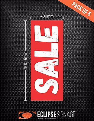 Sale Promotional Poster Pack of 5