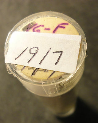 1919-S (50) & 1917-P(48) Lincoln Wheat Cent Roll - Circ. you get both