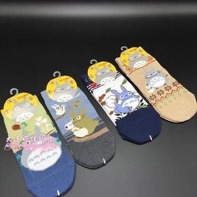 New Women's Japanese STUDIO GHIBLI My Neighbor Totoro Ankle Low Cut Socks Anime