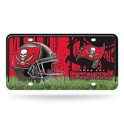 Tampa Bay Buccaneers License Plate Metal Car Auto Tag MTG Officially Licensed