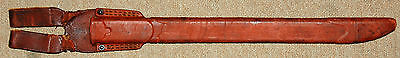 Original Japansese Bayonet Rubber Scabbard for Type 99 Arisaka Rifle, WWII.