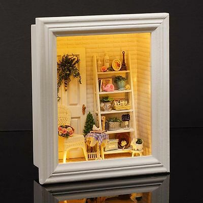 My Long Vacation Country Houses Dolls House DIY Handcraft Miniature Project Kit