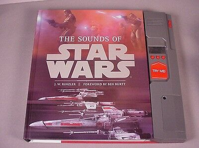 2010 Star Wars Book The  Sounds  Of  w/ electronic sounds 303 pgs. Rinzler Burtt