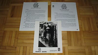 """Marky Mark  """"Music For The People""""  Wahlberg  original promo press kit photo"""