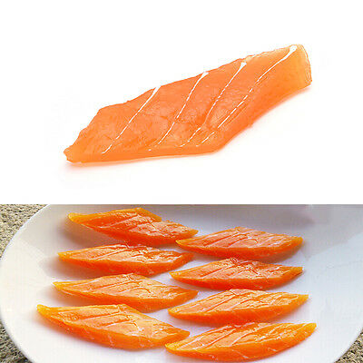 FoodModel Japanese fake food - High Quality Salmon Sashimi Replica LS