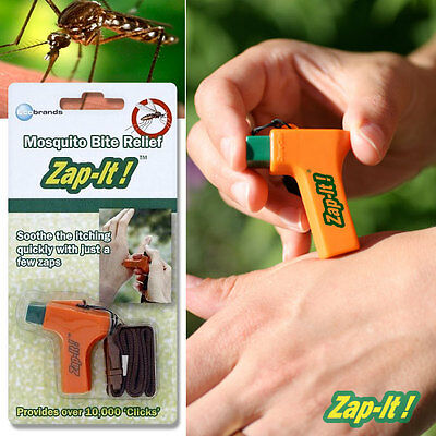 BUNDLE! BUY 4 GET 1 FREE! ZAP-IT! Mosquito Bite Itch Swelling Relief All Natural