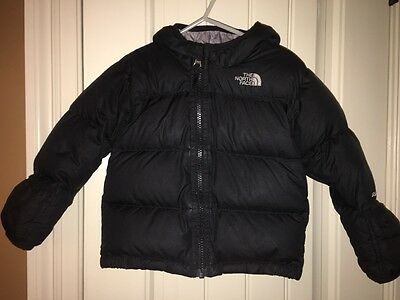 The North Face Nuptse Down Puffer Jacket black 18-24mos