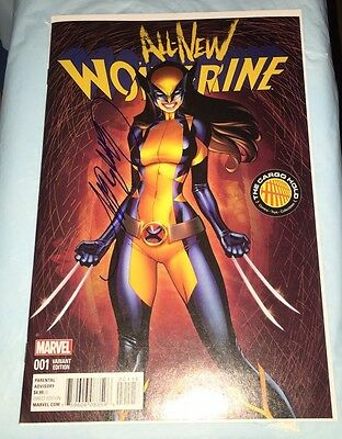 All New Wolverine 1 Nm J Scott Campbell Variant First X23 -Nm Signed Campbell