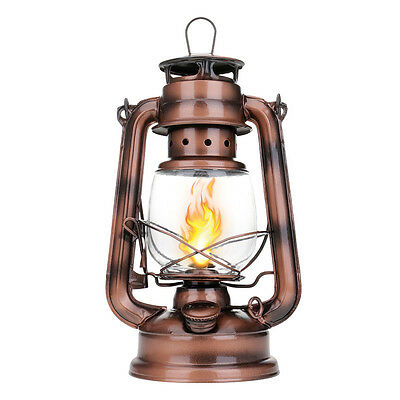 Retro Oil Lantern Outdoor Camping Kerosene Light Indoor Hurricane Alcohol Lamp