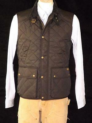 Polo Ralph Lauren Men's Diamond Quilted Vest Black Sz Xl Nwt $225