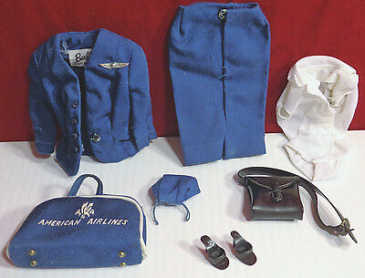 Vintage Barbie American Airlines Stewardess Outfit # 984 by Mattel 1961 COMPLETE