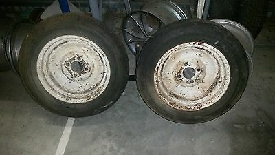 Austin A40 wheels rims