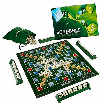 Scrabble Original Board Game Funny Family Game NEW