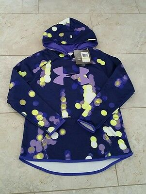 New Under Armour Storm Reflective Youth Girls  Sweatshirt Hoodie Size: X-Large