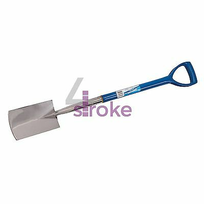 Stainless Steel Border Spade (920mm) Soil Weed Shovel