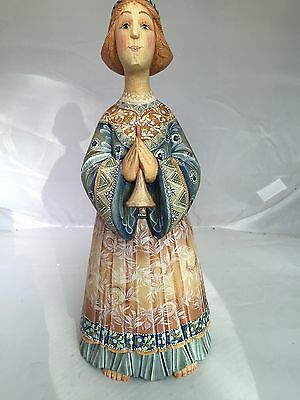 """G. DeBrekht """"Muse Angel"""" Large 12"""" Woman Figurine Limited Edition LE"""