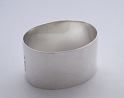 Antique 1932 Hallmarked Sterling Silver Napkin Ring LAYBY AVAILABLE