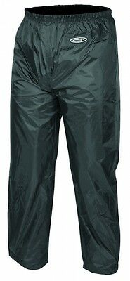 Motodry Lightning Motorcycle Rain Pants Wet Weather Gear 100% Waterproof Black