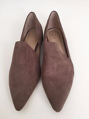 Ladies Brown 'Spurr' Suede Loafers size AU7