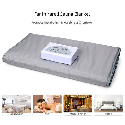 Far Infrared Body Slimming Sauna Blanket Detox Therapy Beauty SPA Machine Salon