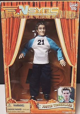 2000 Living Toyz Nsync Collectible Marionette Justin Timberlake Marionette Doll
