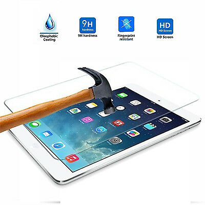 9H HD Premium Tempered Glass Screen Protector Film Guard For iPad 5/6 & Air 1/2