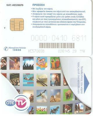 OTE tv satellite card (chip card and V)