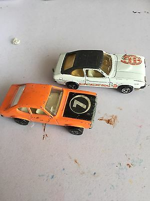 Diecast Ford Capri Mark 1 And Mark 2 Some Rare One's X6