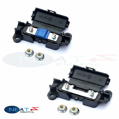 Choose 1, 2, 4 Or 6 x Car Inline Midi And Strip Link Fuse Holder MTA Not Durite