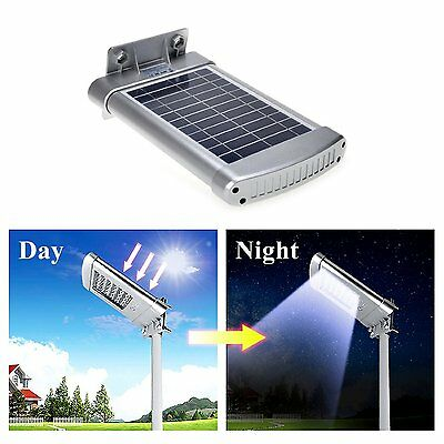 Solar Garden Lights Wireless Sensor Outdoor Living Pathway Led Flood Light