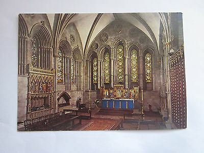HEREFORD CATHEDRAL Postcard  - Servian / Woodmansterne - Unposted
