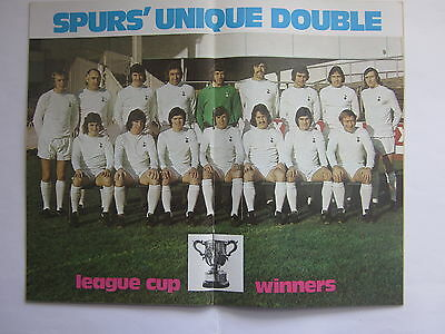LEAGUE FOOTBALL Magazine 737 1972-73: TOTTENHAM  League Cup Winners Special