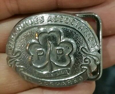 Old Singapore Girl Guides belt buckle