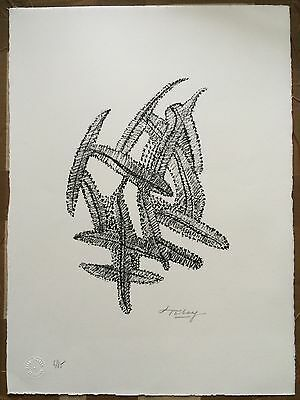 Mark Tobey Hand Signed Numbered Etching