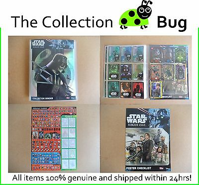 Star Wars Rogue One : Complete Set : Plus Limited Edition Cards Darth & Jyn!