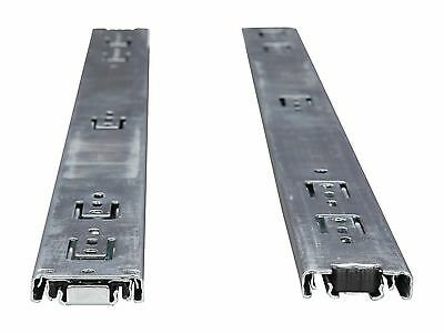 """26"""" Sliding Rail Kit - 3 Section, Ball Bearing, Supports from 2U to 5U chassis"""