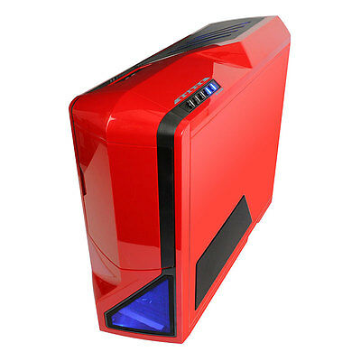 NZXT Phantom Full Tower Chassis Gaming PC Case - Red