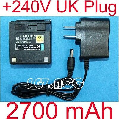 PB-10 PB10 Li-ion Battery Pack + Charger Kenwood Radio TK-320 TK-340 TK348 New