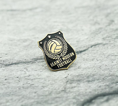 Exclusive Pin Ultras Against Modern Football Casual AMF Badge