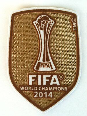 Real Madrid 2014 Club World Champions Football Patch 2014-2015 Soccer Badge NEW