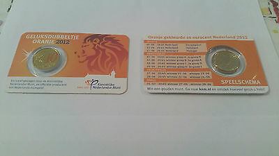Coincard 10 Euro Cent Pays-Bas 2012 Colorisee