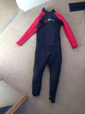 Wetsuit full length kids - age 7-10 Gul