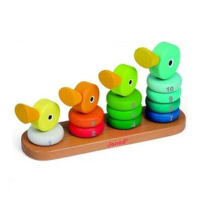 Empilable duck family - Janod - NEUF