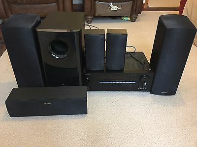 Onkyo Dolby Atmos 5.1.2 Channel AV Receiver and Speakers
