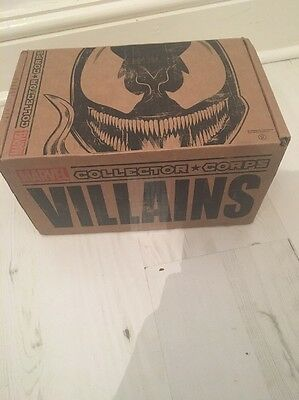 Marvel Collector Corps Villains Box