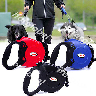 Automatic Retractable Pet M L Dog Cat Puppy Traction Rope Walking Lead Leash 8m